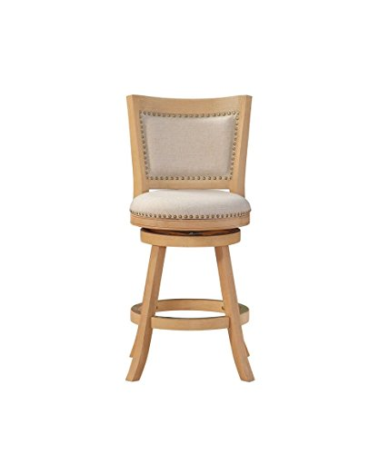 Boraam 76624 Melrose Counter Height Stool 24 Inch White