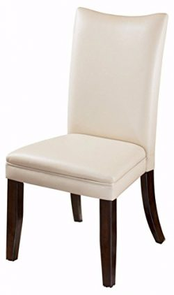Ashley Furniture Signature Design – Charrell Dining Side Chair – Curved Back – ...