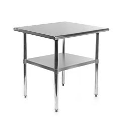 Gridmann NSF Stainless Steel Commercial Kitchen Prep & Work Table – 30 in. x 24 in.
