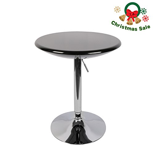 """Modern Kitchen Bar Table: LCH 23.6"""" Top Adjustable Dining Bar Table Modern Round"""
