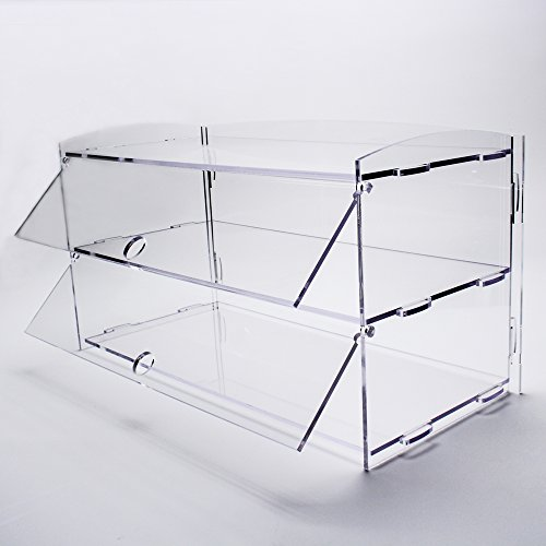 Display4top Acrylic Display Pastry Cabinet Cakes Donuts
