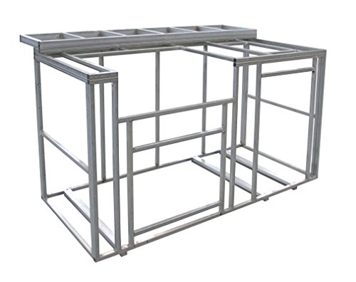 Cal Flame 6 Outdoor Kitchen Island Frame Kit With Bartop
