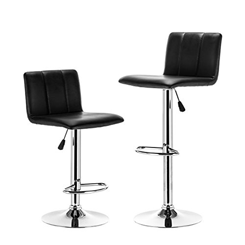 Lch Bar Stools Airlift Square Adjustable Bar Stools With