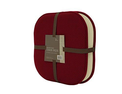 2 Pack: GoodGram Non Slip Ultra Comfort Memory Foam Chair