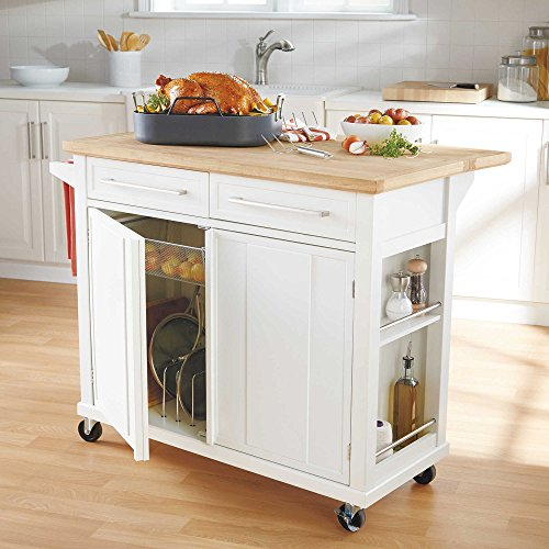 55 Functional And Inspired Kitchen Island Ideas And: Style And Function Real Simple Rolling Kitchen Island