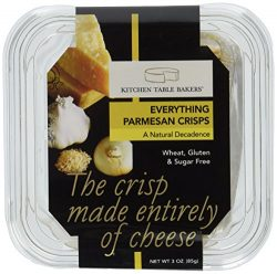 Kitchen Table Bakers Everything Gourmet Parmesan Cheese Crisps, 3 Ounce