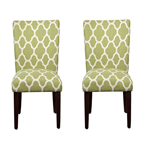 Kinfine Parsons Upholstered Accent Dining Chair Set Of 2