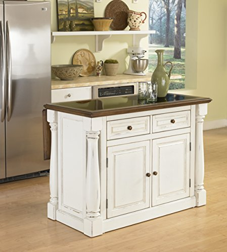 kitchen island with bar top home styles 5021 94 monarch kitchen island with granite 24803