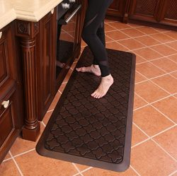 Butterfly Long Kitchen Anti Fatigue Mat Comfort Floor Mats – Perfect For kitchen and Stand ...