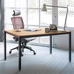 Need Computer Desk 47″ Computer Table with BIFMA Certification Sturdy Office Meeting/Train ...