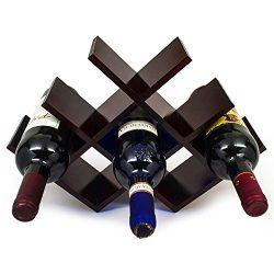 sorbus wine rack butterfly u2013 stores 8 bottles of wine u2013 sleek and chic looking