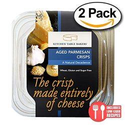 Value 2 Pack: Kitchen Table Bakers, Aged Parmesan Crisps, 3 oz.