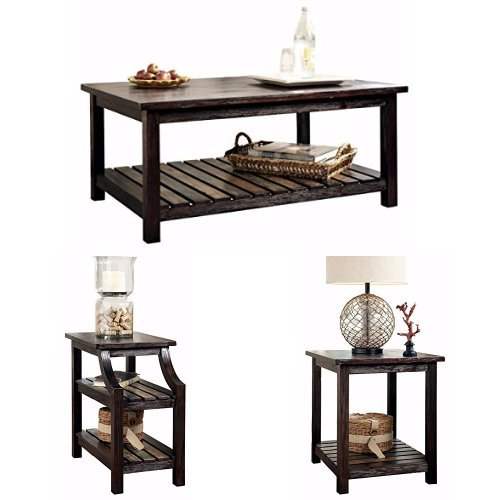 Coffee Tables And End Tables Sets Rustic End Tables