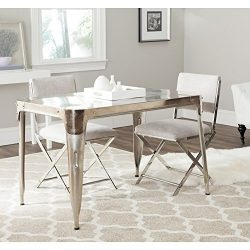 Safavieh Home Collection Weston Dark Silver Dining Table