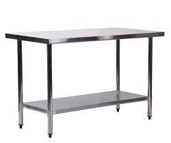 24″ x 72″ Stainless Steel Kitchen Work Table Commercial Kitchen Restaurant