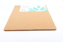 Cork Placemats for Dining Table Set of 4