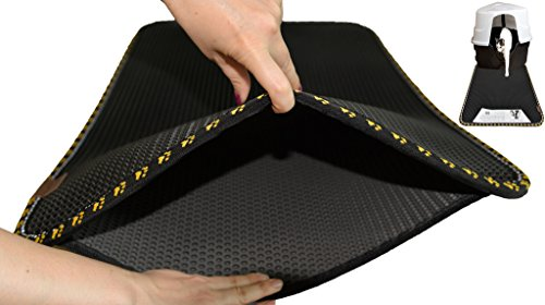 Cat Litter Mat Extra Large Size, 32 X 24 Inches Light Double Honeycomb Multipurpose Litter Mat.  ...