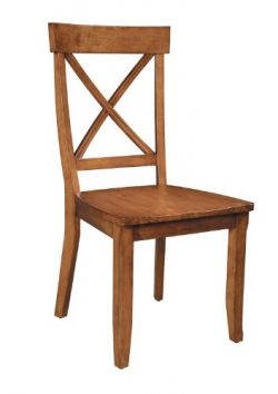 Home Styles 5179-802 Dining Chairs, Cottage Oak, Set of 2