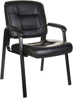 AmazonBasics Guest Chair, Black