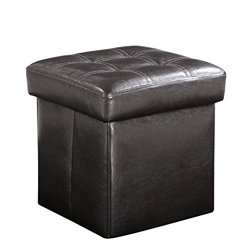 folding storage ottoman bench  great as a seat or a foot