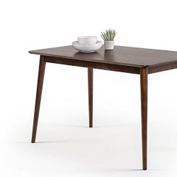 Zinus Mid-Century Modern Wood Dining Table / Espresso