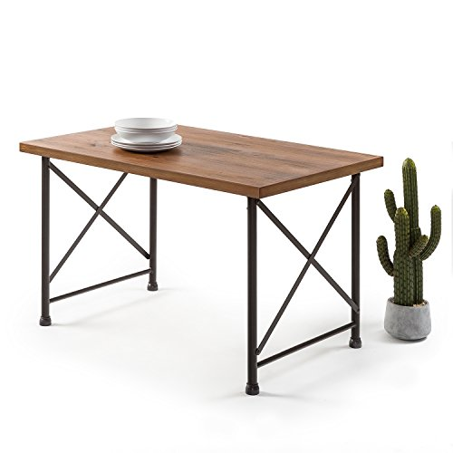 Industrial Style Dining Room Tables: Zinus Industrial Style Dining Table - DiningBee