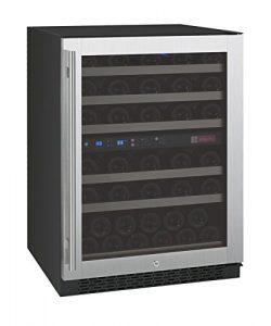 Allavino FlexCount VSWR56-2SSRN – 56 Bottle Dual Zone Wine Refrigerator with Right Hinge B ...
