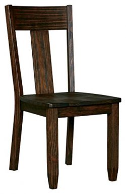 Ashley Furniture Signature Design – Trudell Dining Room Chair – 100% Pine Wood ̵ ...