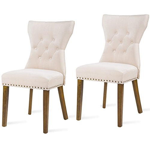 Harper Bright Design Dining Chair Tufted Upholstered