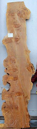 Wide Lumber Big Leaf Maple Figured Natural Live Raw Edge Wood Slab Curly Figure Burl Spalted Boa ...