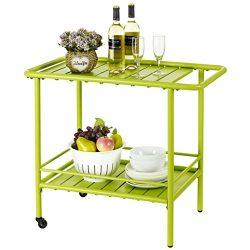 Finnhomy On Sale Garden Service Cart Display Potting Serving Utility Storage Kitchen Food Bevera ...