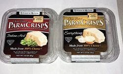 KITCHEN TABLE PARM CRISPS- 2 PACK – 5 FLAVORS TO CHOOSE FROM (ITALIAN-EVERYTHING)