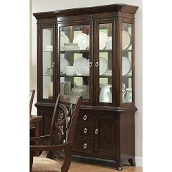 Kara Formal Buffet and Hutch in Cherry