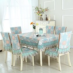 Table Table Table Cloth,European-style Living Room Garden Modern Simple Dining Table Package,Cha ...