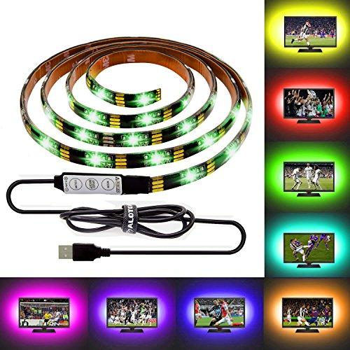 Linca Hd Led Kitchen Under Cabinet Strip Light: ALOTOA 59 Inch USB LED TV Strip,IP65 Waterproof 5V RGB LED
