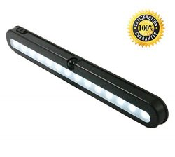T01B Closet Light – JEBSENS 14 LED Under Cabinet Lighting And Battery Operated Wireless Mo ...