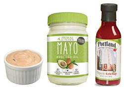 Paleo Thousand Island Dressing Kit: Avocado Oil Paleo Mayo and Organic Ketchup