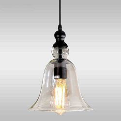 Kitchen Island Pendant Light Glass Shade Pendant Lighting Bar Ceiling Lamp Office Modern Ceiling ...