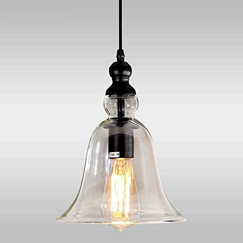 Kitchen Island Pendant Light Glass Shade Pendant Lighting