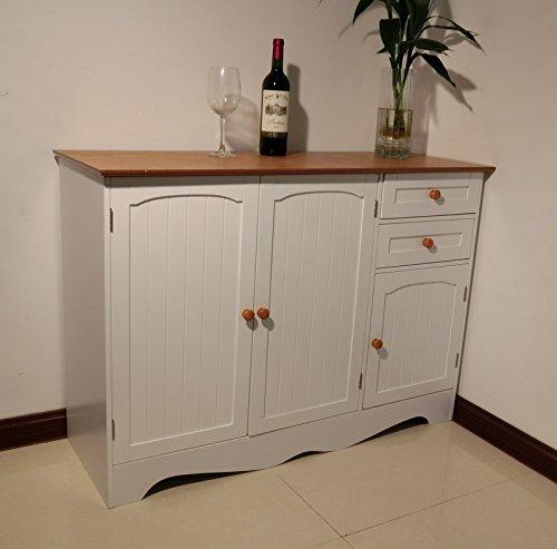 Homecharm Intl 43 3x15 8x30 7 Inch Storage Cabinet White