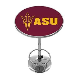 NCAA Arizona State University Chrome Pub Table