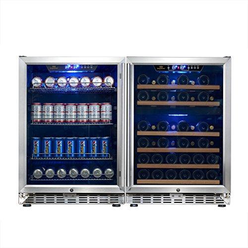 Under Counter Built In Triple Zone Beverage Cooler