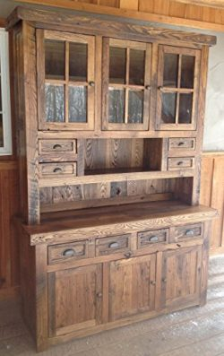 Reclaimed Chestnut Hutch