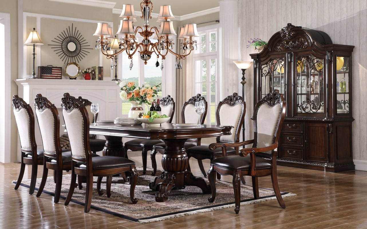 Astoria Grand Merrionette 7 Piece Dining Set Diningbee