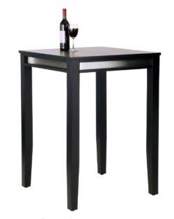 Home Styles Manhattan Pub Table, Black