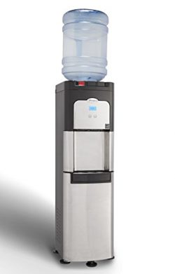 Whirlpool Commercial Water Cooler, Storage Cabinet, Digital Temperature Display, Ice Chilled Wat ...