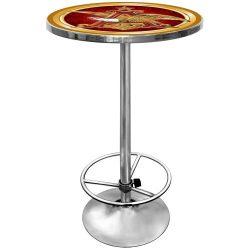 Anheuser Busch Chrome Pub Table