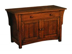 Crafters and Weavers Mission Oak Sideboard or Entry Way Cabinet