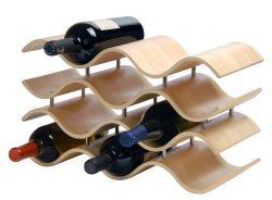 Oenophilia Bali Wine Rack, Natural – 10 Bottle