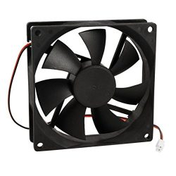 90mm x 25mm DC 12V 2 Terminals Cooling Fan for Computer CPU Case